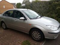 Here is my Ford Focus Ghia for sale. Very good little car, 119000 miles, mot till June 2017