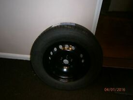 Freelander Spare Wheel & Tyre