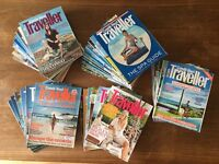 Job lot of Conde Nast Traveller magazines (40 magazines)