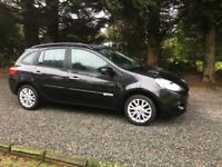 RENAULT CLIO 1.5DCI SPORTS TOURER £30 PER YEAR ROAD TAX LIW INT60+MPG