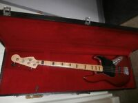 FENDER SQUIRE VINTAGE MODIFIED JAZZ BASS 70,S