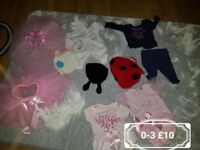 Girls 3 to 6 bundle and sports bundles