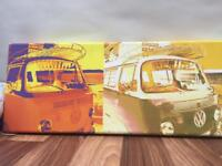 Vw Campervan canvas picture