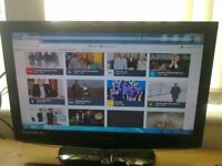 """technika 21.6"""" lcd widescreen tv with built in freeview"""