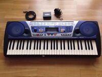 YAMAHA PSR-262 with MIDIMAN and MIDI Cable