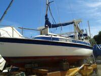 Sailing Boat - 4 Berth 19 Footer