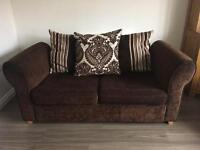 DFS scatter-back Sofa bed & Ottoman footstool