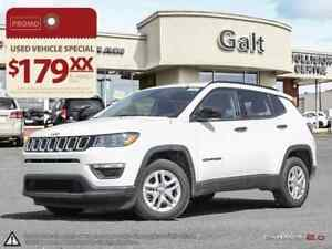 2017 Jeep New Compass SPORT X-DEMO | BACK UP CAM BLUETOOTH 6.5TO