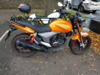 Lovely 125cc Keeway RKV Bike for sale.