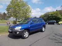 KIA SPORTAGE XE 4X4 MANUAL STUNNING BLUE 2006 NEEDS ATEENTION DRIVES 72K MILES BARGAIN £950 *LOOK*