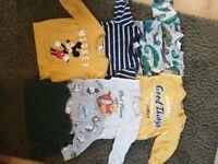 Baby Boy clothes 6-12 months h&m next m&s