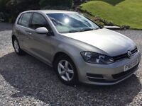 VW Golf 1.2Tfsi 2013 only 52K miles, mot Dec, extended Warranty Dec, in excellent condition