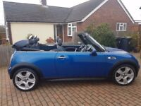 2006, very low mileage, Mini Cooper S Convertible
