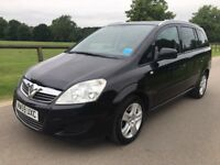 2010 Vauxhall Zafira Active 1.9 Cdti 7 seater turbo diesel