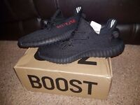 Yeezy v2 350 Boost Pirate Black Red