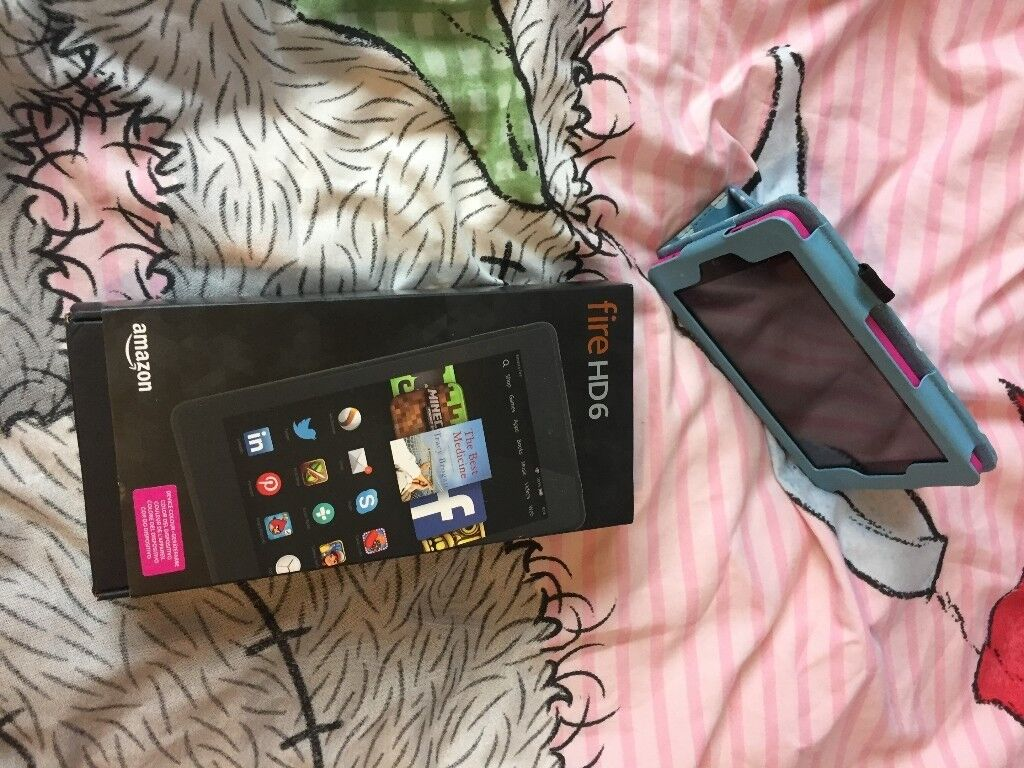 AS NEW FREE DELIVERY AMAZON KINDLE FIRE HD