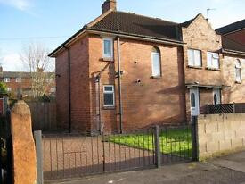 Semi detached 3 bedroom town house large garden driveway part or unfurnished Armley Bramley £695
