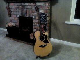 Yamaha AC1R electro acoustic guitar