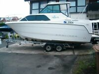 Bayliner 2452 Ciera Classic Cruiser sports boat Trophy hardtop