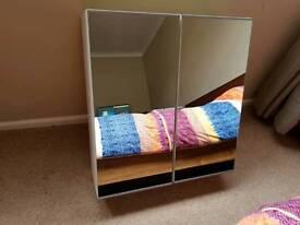 Ikea Lillangen 2 door mirror cabinet