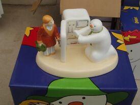 The Snowmen - Coalport Snowman Figures - Chilling Out