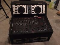 Pioneer CMX 5000 with KAM Mobile Pro Mixer