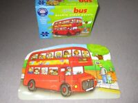 Orchard Toys Little Bus double sided jigsaw puzzle age 3+