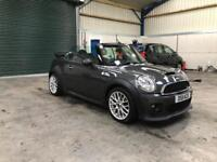 2011 Mini Cooper SD convertible jcw kit 2.0d low miles guaranteed cheapest in country