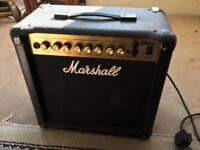 Marshall MG series 15DFX Guitar amp.