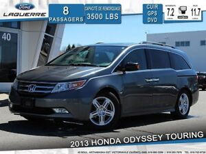 2013 Honda Odyssey TOURING**8 PASSAGERS*CUIR*CAMERA*BLUETOOTH*A/