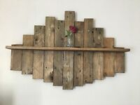 Shelving and furniture made from reclaimed timbers