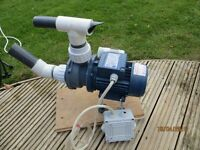 Circulating Water Pump for Jacuzzi Style Baths and Hot Tubs