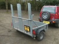 2010 BATESON 750KG UNBRAKED GOODS TRAILER WITH RAMPTAIL.........
