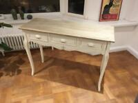 Vintage style/shabby chic Dressing/Console Table