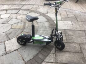 Uber Scoot 500w 36v Electric Scooter