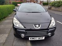 Peugeot 307 cabriolet for sale