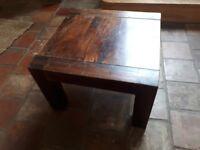 Solid hard wood coffee table
