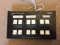QED - 6 Way Speaker Switching Unit