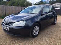 VW GOLF 1.6 SE AUTO 5DR 2005 LOW MILEAGE IDEAL FIRST CAR
