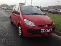MITSUBISHI COLT 1.1 Red 3dr (red) 2005