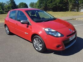 RENAULT CLIO 1.2 DYNAMIQUE TOM TOM 5DR, 2012, GREAT CONDITION, MOT 12/18, A/C, GREAT TOWN CAR.