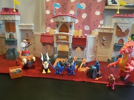 fisher price imaginex castle with friends
