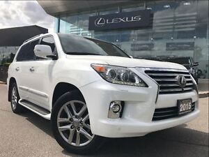 2015 Lexus LX 570 Executive Pkg AWD Navi Backup Cam Leather Sunr