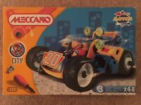 Meccano Build and Play car set