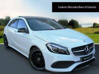 Mercedes-Benz A Class A 200 D AMG LINE PREMIUM PLUS (white) 2017-10-31