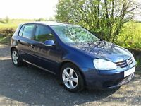 VW GOLF 5 DOOR HATCHBACK TDI SPORT 140 BHP 07 PLATE LADY OWNER