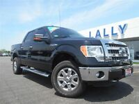 2014 Ford F-150 XLT, Crew, 4X4, ONE OWNER TRADE!!