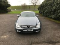 MERCEDES-BENZ CLS 5.5 CLS500 7G-Tronic 4dr Auto (grey) 2006