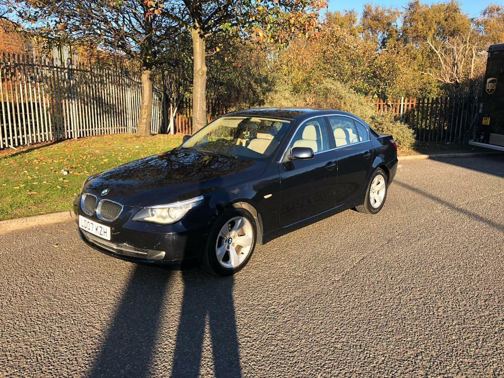 2007 07 Bmw 520d Se Auto Full Leather Full Service In Liverpool