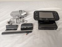 Nintendo Wii U with Gamepad and Cables